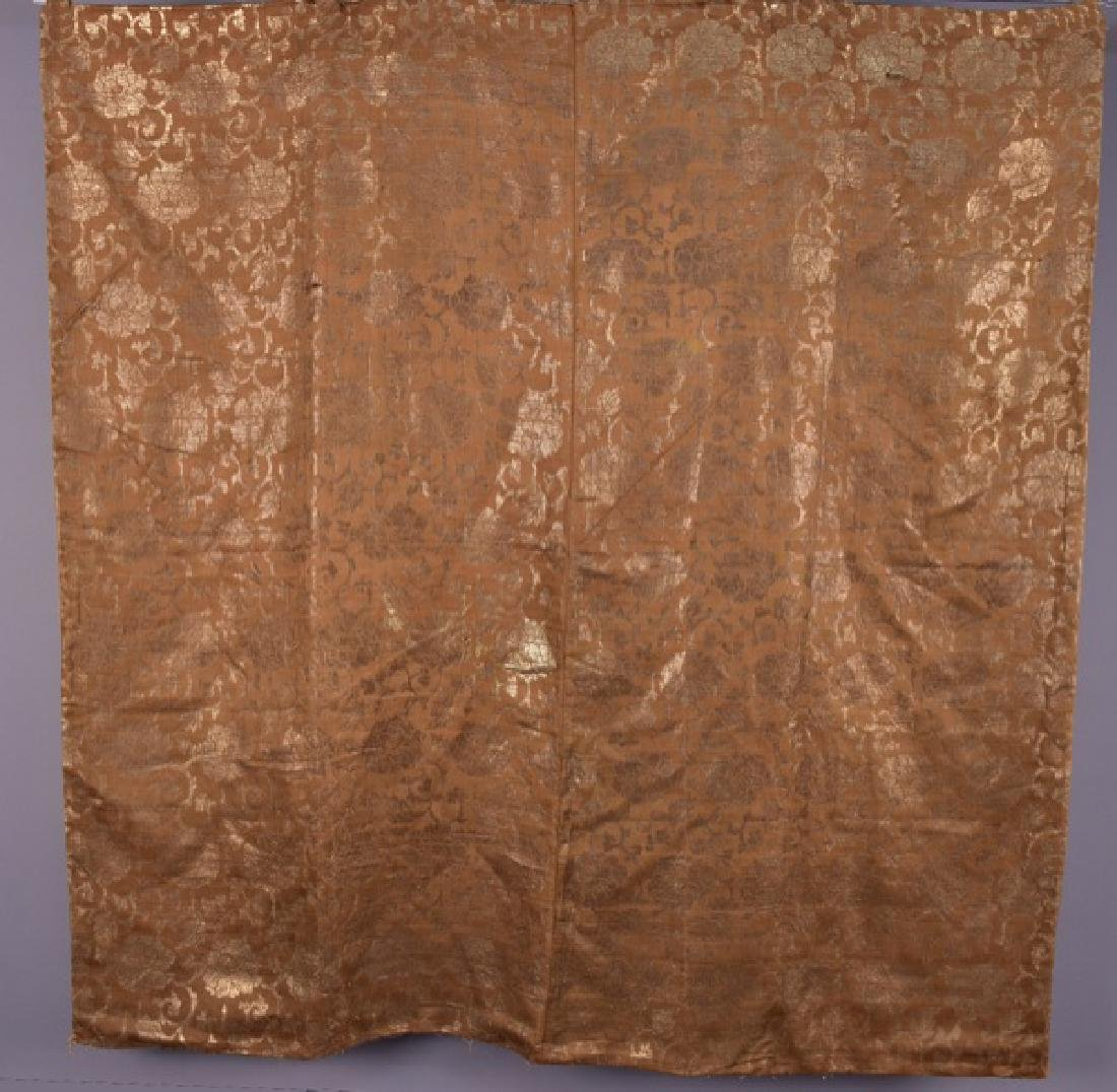 JAPANESE or CHINESE SILK BROCADE, 18th C