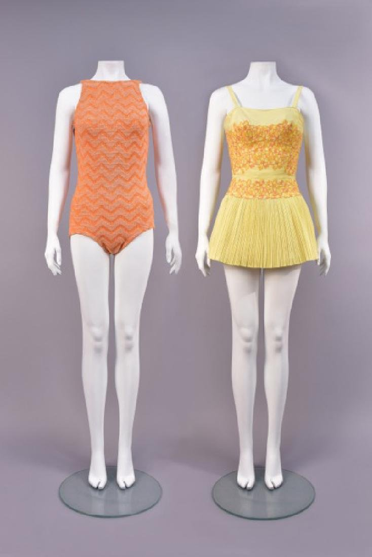 RUDI GERNREICH and TINA LESER SWIMSUITS, MID 20th C.