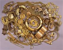 LOT of MOSTLY SIGNED VINTAGE RHINESTONE COSTUME JEWELRY