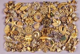LOT of SIGNED COSTUME JEWELRY