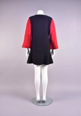 CHRISTIAN LACROIX COLOR BLOCK DAY DRESS