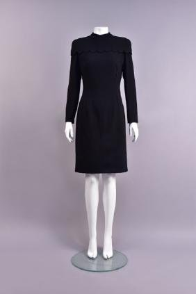 GIVENCHY by McQUEEN DAY DRESS with REMOVABLE COLLAR,