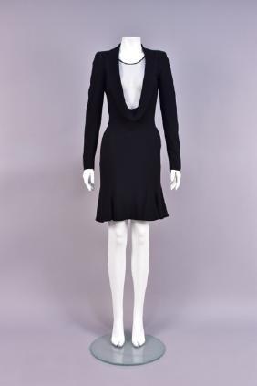 ALEXANDER McQUEEN RUNWAY TUXEDO DRESS, 2006