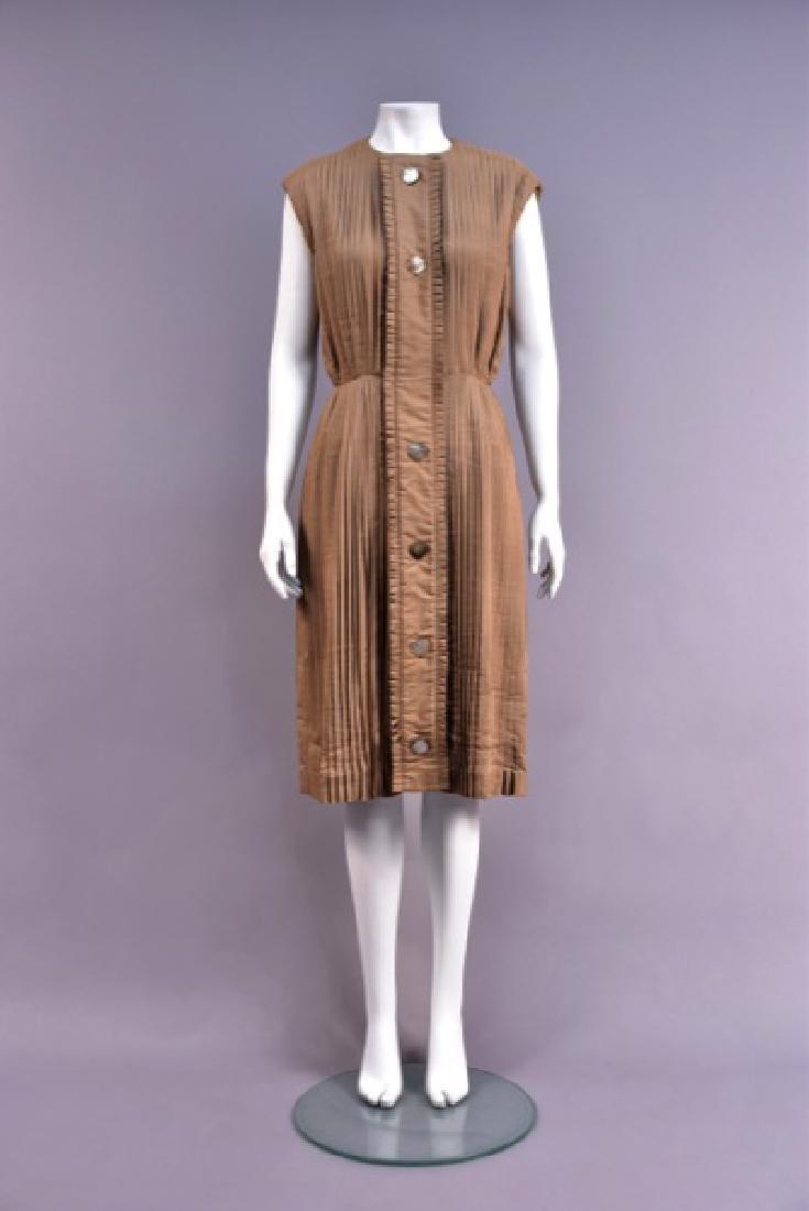 GUY LAROCHE MARIA CARINE LICENSED SILK DAY DRESS