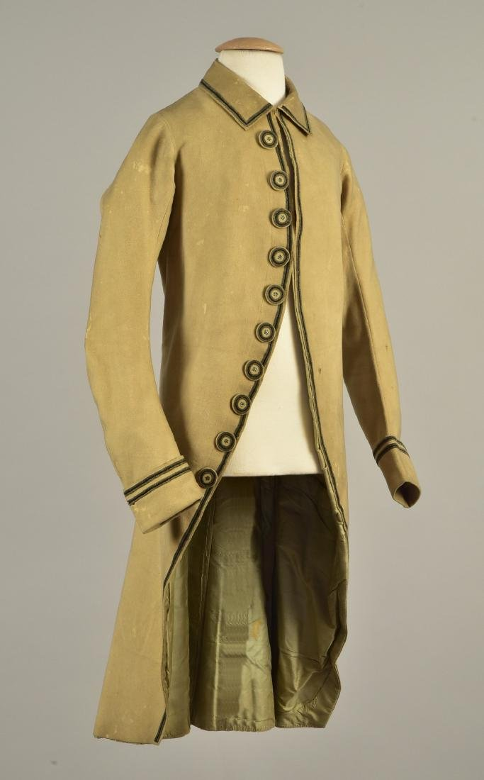 YOUNG MAN'S EMBROIDERED COAT, 1780