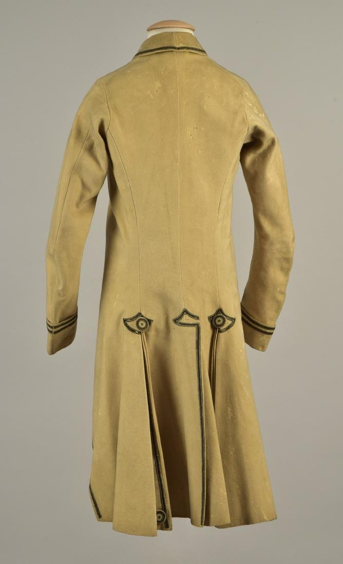YOUNG MAN'S EMBROIDERED COAT, 1780 - 2