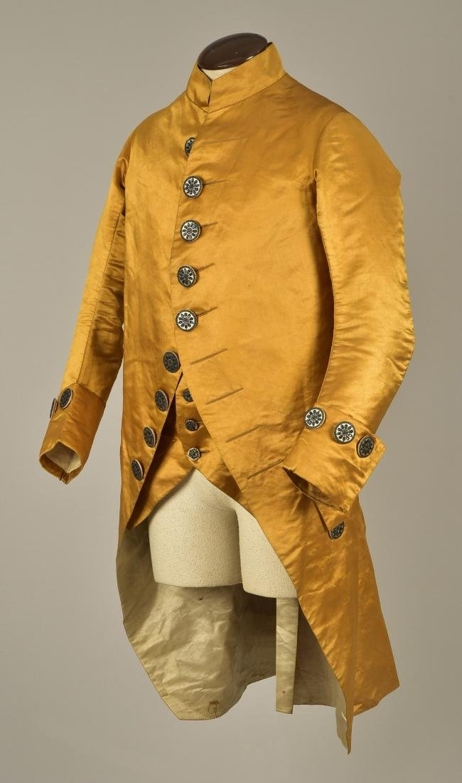GENTLEMAN'S SATIN COAT and WAISTCOAT, 1790
