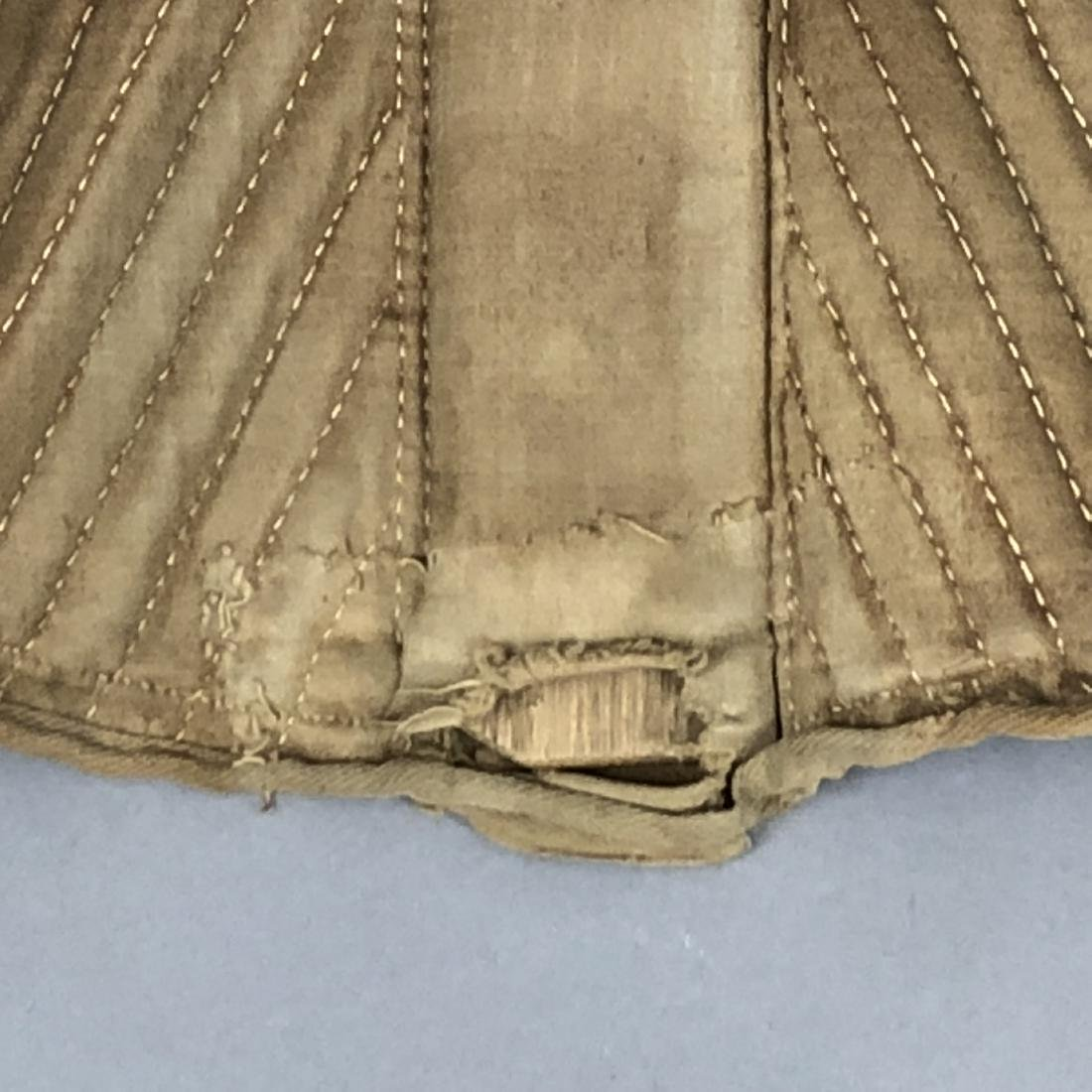 BROWN COTTON SATEEN CORSET, c. 1835 - 4