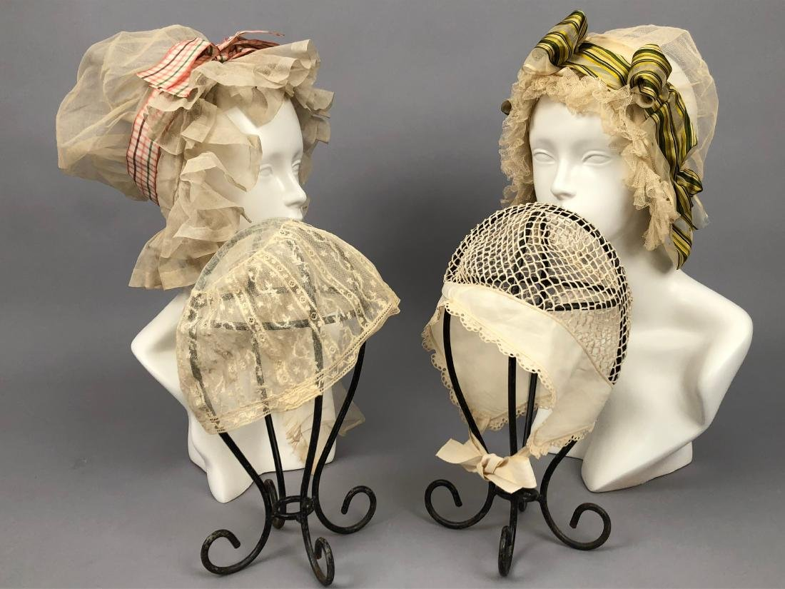 FOUR NET CAPS, 1800 - 1830