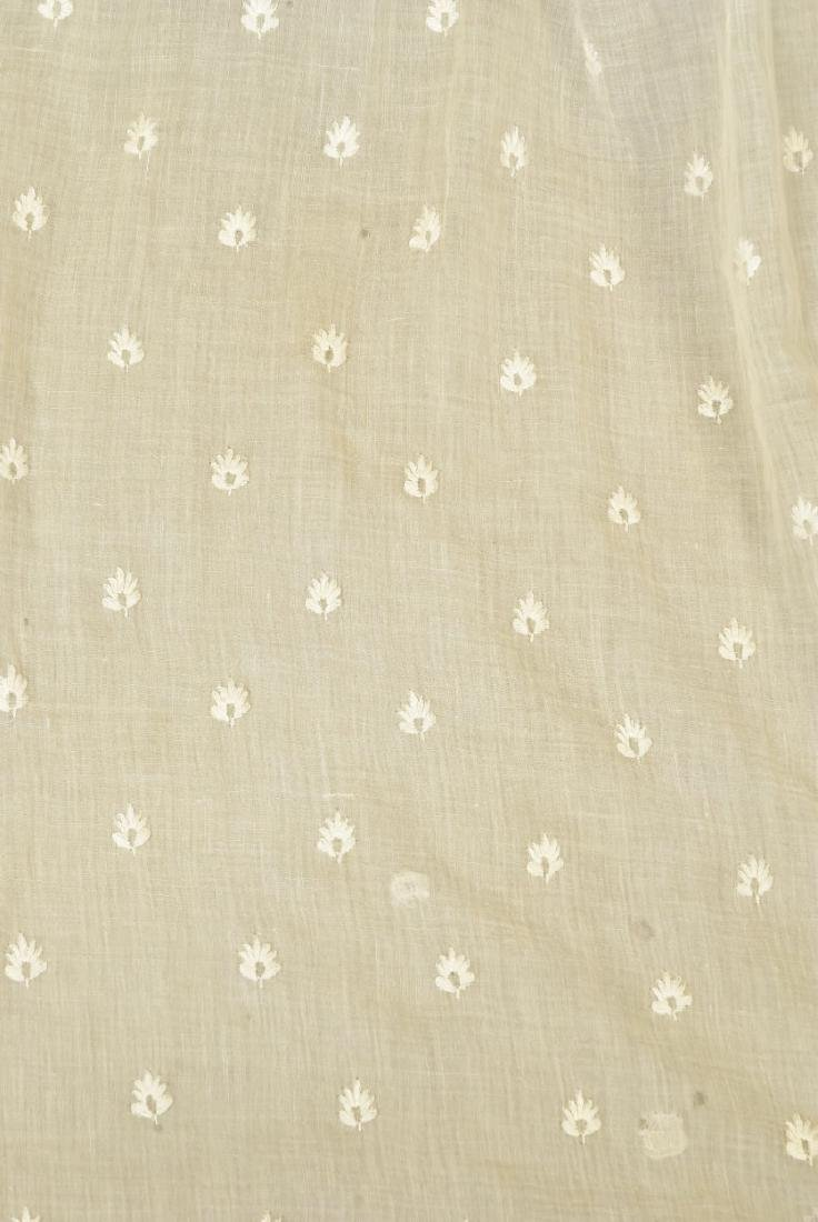 GRACE FLETCHER WEBSTER MUSLIN DRESS, 1805 - 3