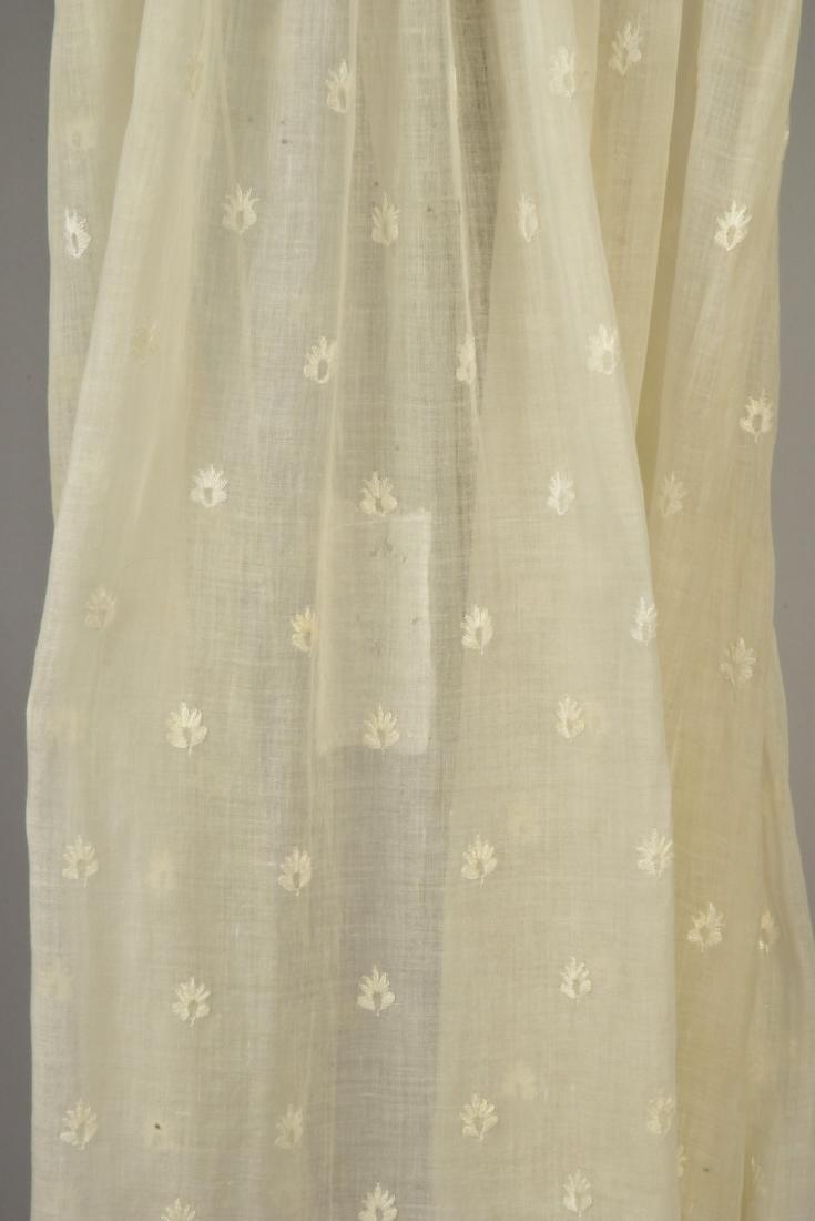 GRACE FLETCHER WEBSTER MUSLIN DRESS, 1805 - 4