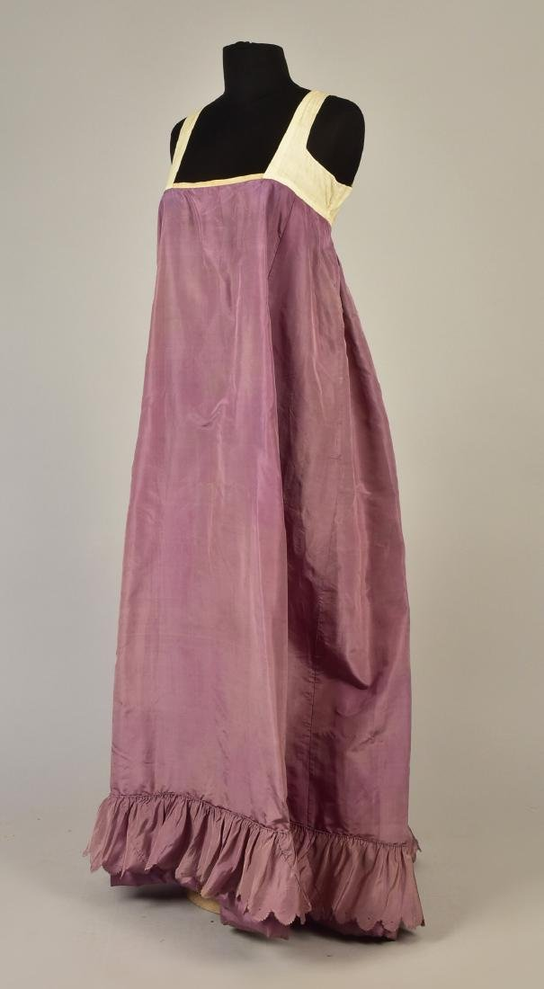 2-PIECE SILK TAFFETA DRESS, c. 1823 - 3