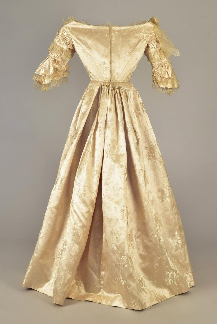 LADY JANE ERSKINE'S SILK WEDDING GOWN and PELLERINE, c. - 2