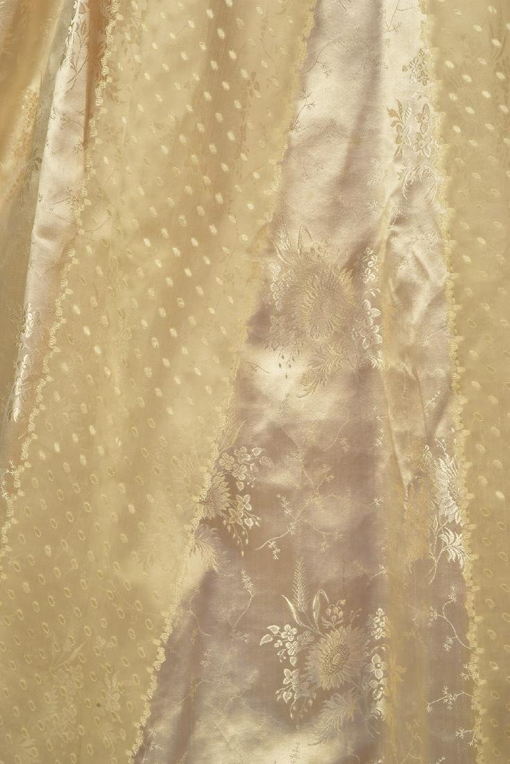 LADY JANE ERSKINE'S SILK WEDDING GOWN and PELLERINE, c. - 4