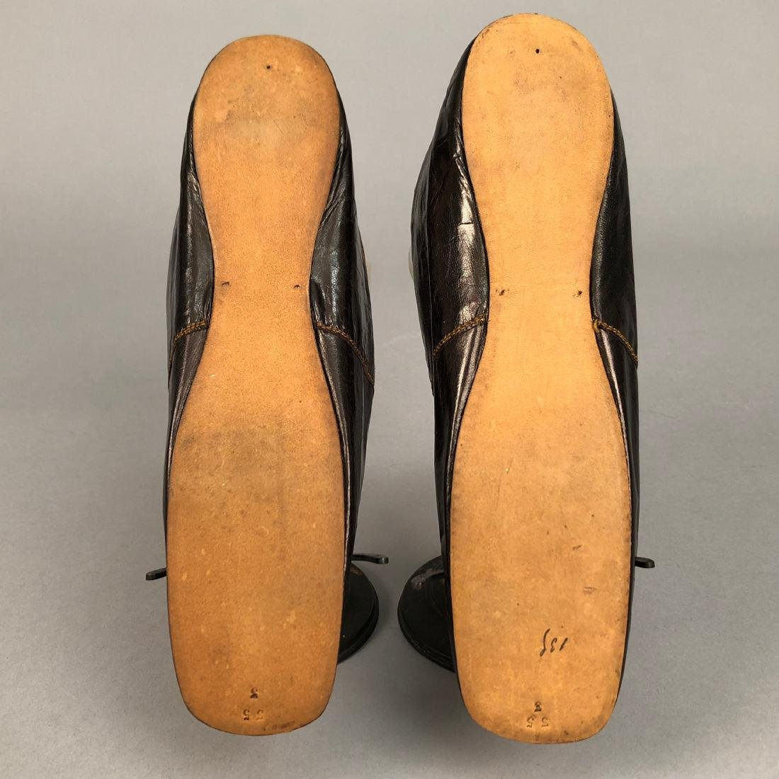 KID SHOES with BARETTE VAMP, 1840s - 1850s - 4
