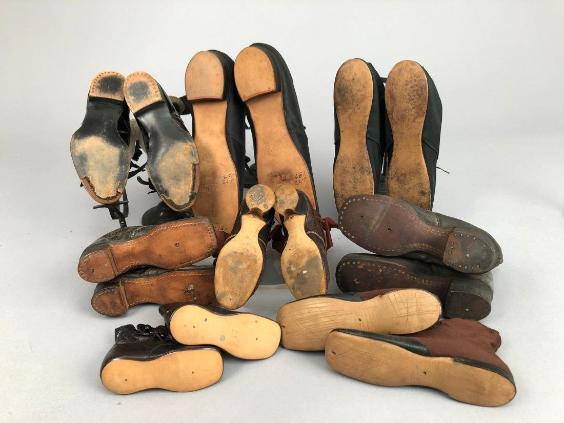 EIGHT PAIR CHILDREN'S SHOES, 1840s - 1910 - 2