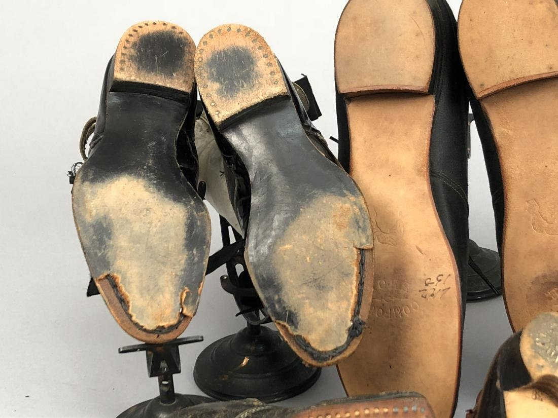 EIGHT PAIR CHILDREN'S SHOES, 1840s - 1910 - 3