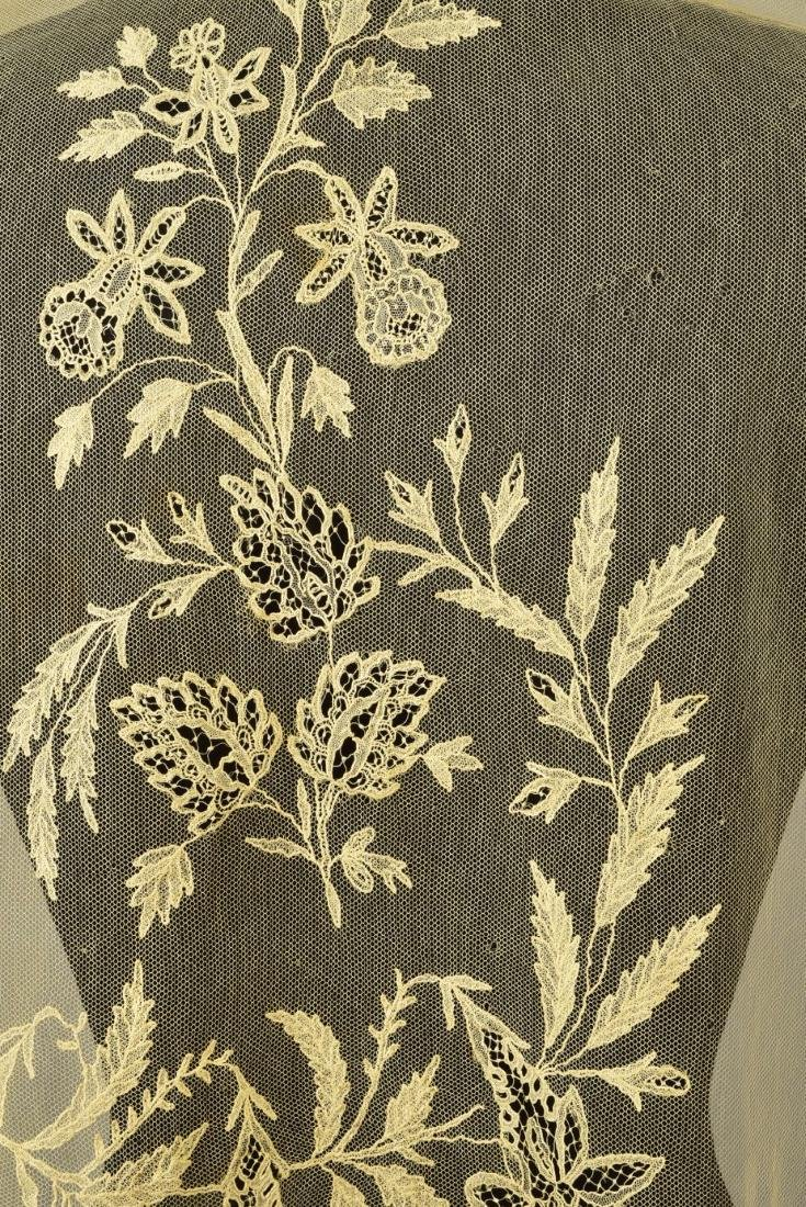 THREE EMBROIDERED NET STOLES, 1800 - 1830 - 2