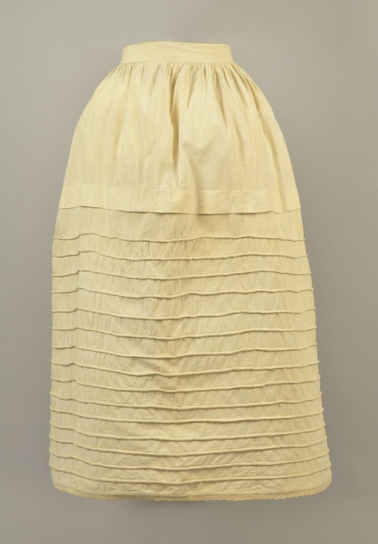 CORDED COTTON PETTICOAT, 1850
