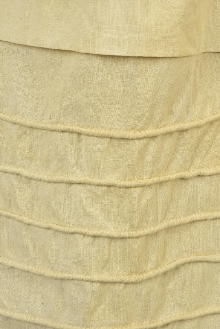 CORDED COTTON PETTICOAT, 1850 - 2