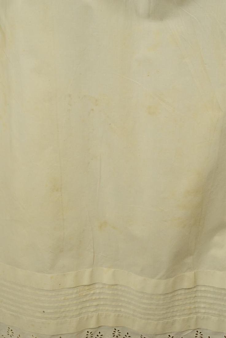RARE TRAINED NURSING/MATERNITY UNDERDRESS, 1840s - 4
