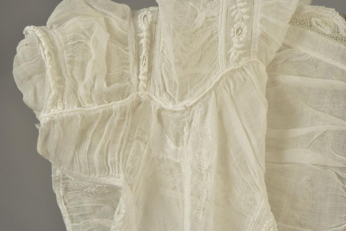 TWO WHITE COTTON BLOUSES, 1860s - 4