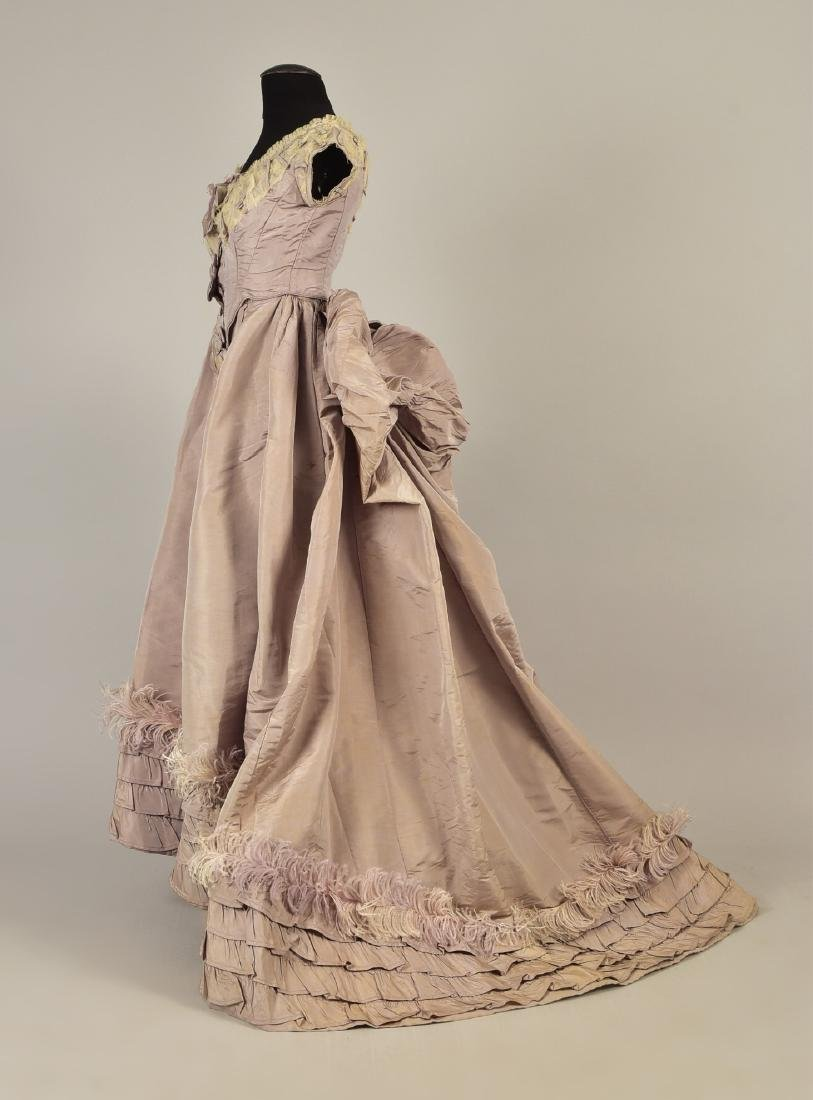 GAGELIN SILK GOWN with TWO BODICES, 1869