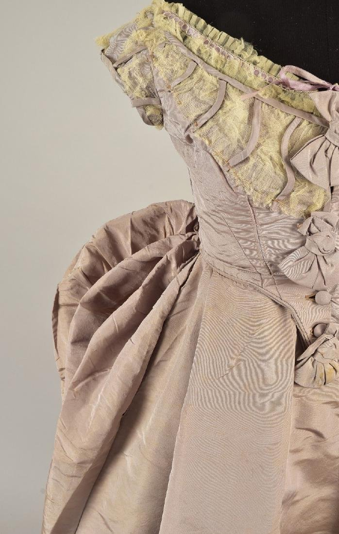 GAGELIN SILK GOWN with TWO BODICES, 1869 - 2