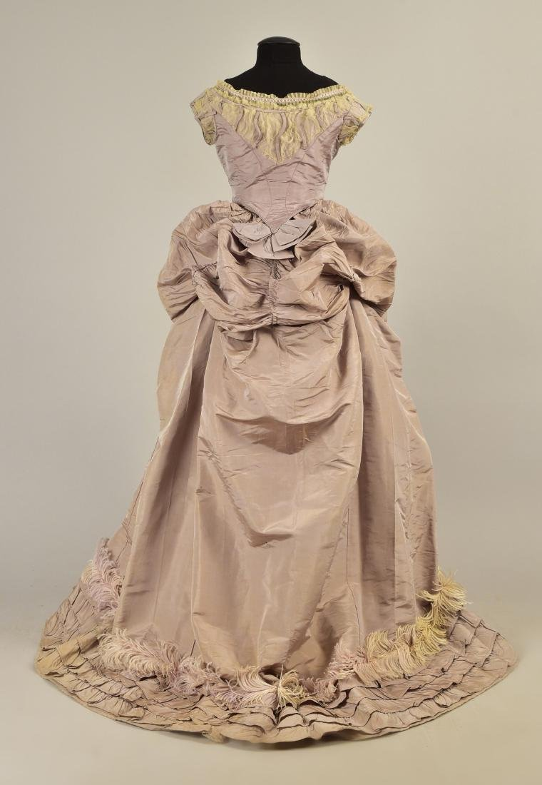 GAGELIN SILK GOWN with TWO BODICES, 1869 - 3