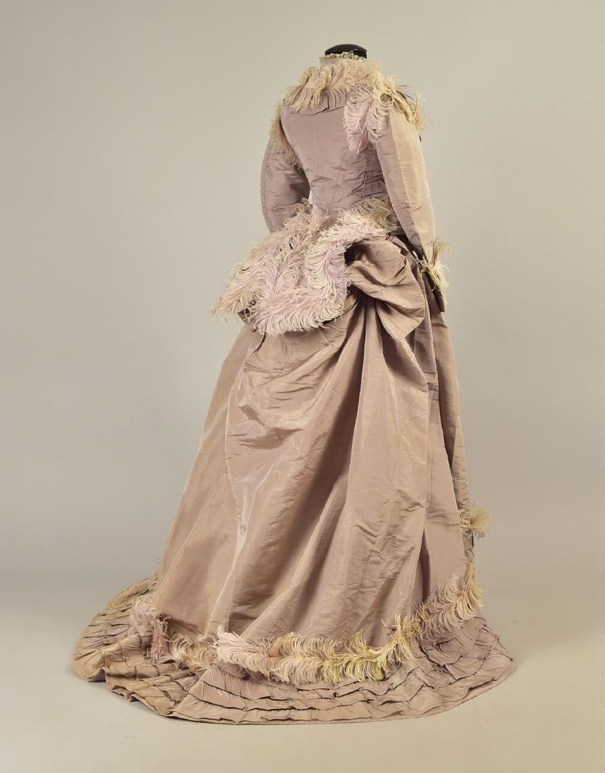 GAGELIN SILK GOWN with TWO BODICES, 1869 - 4