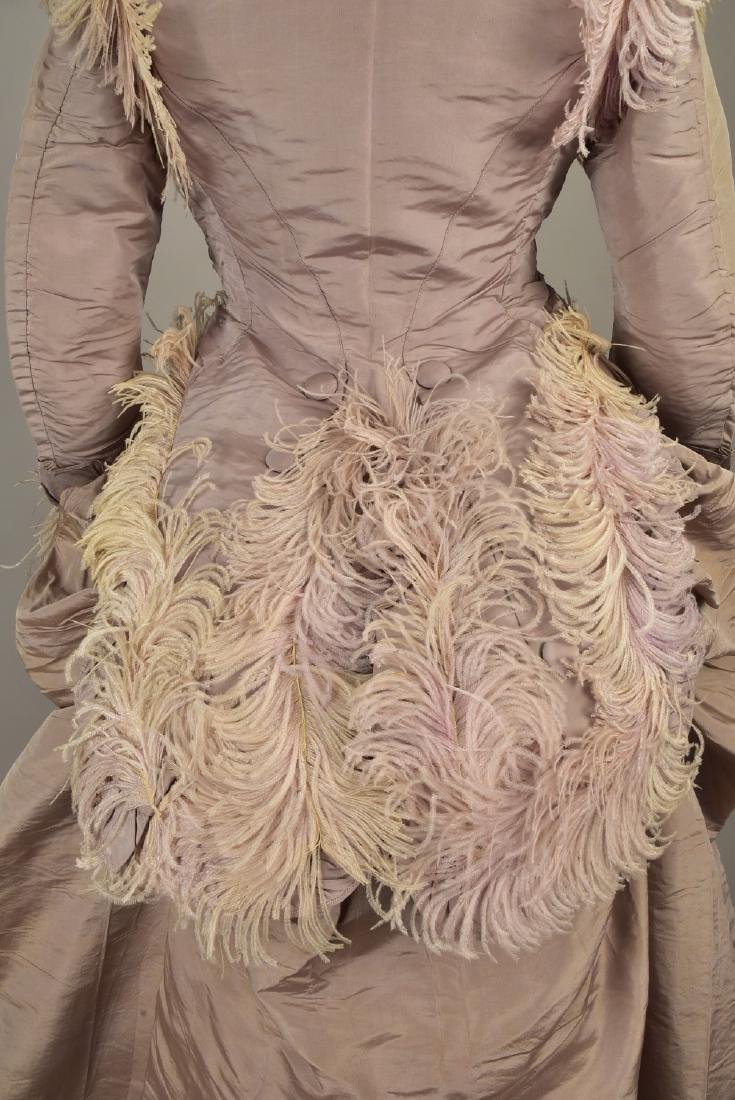 GAGELIN SILK GOWN with TWO BODICES, 1869 - 5