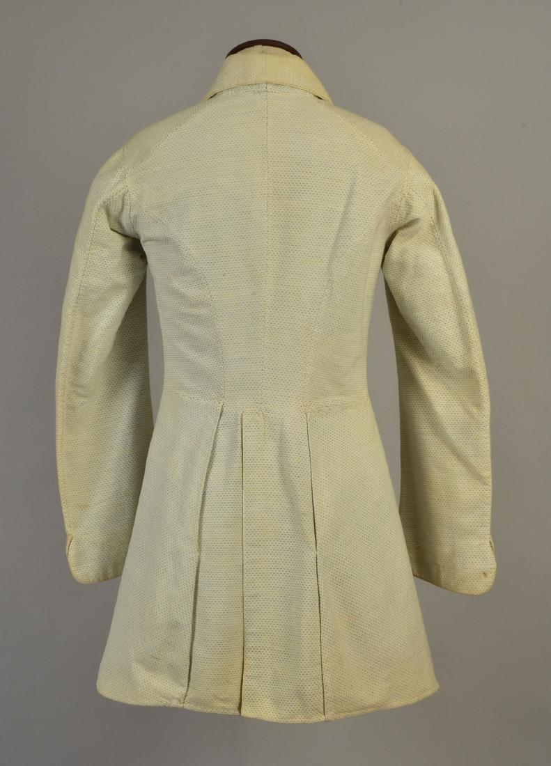 FLECKED COTTON JACKET, 1840s - 2