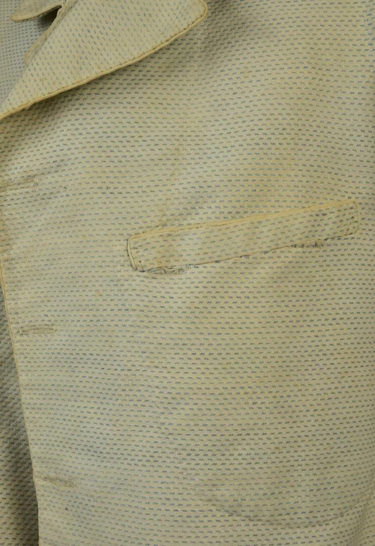 FLECKED COTTON JACKET, 1840s - 3