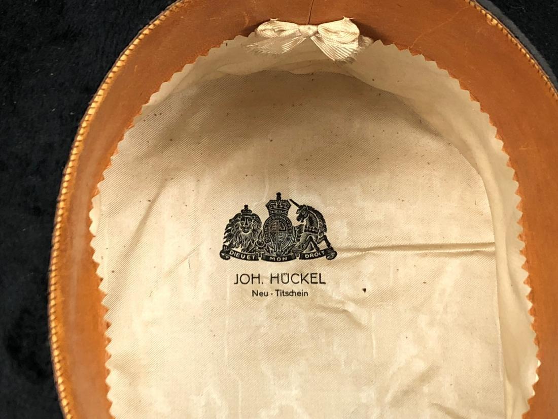 BLACK BEAVER TOP HAT, AUSTRIA, c. 1840 - 5