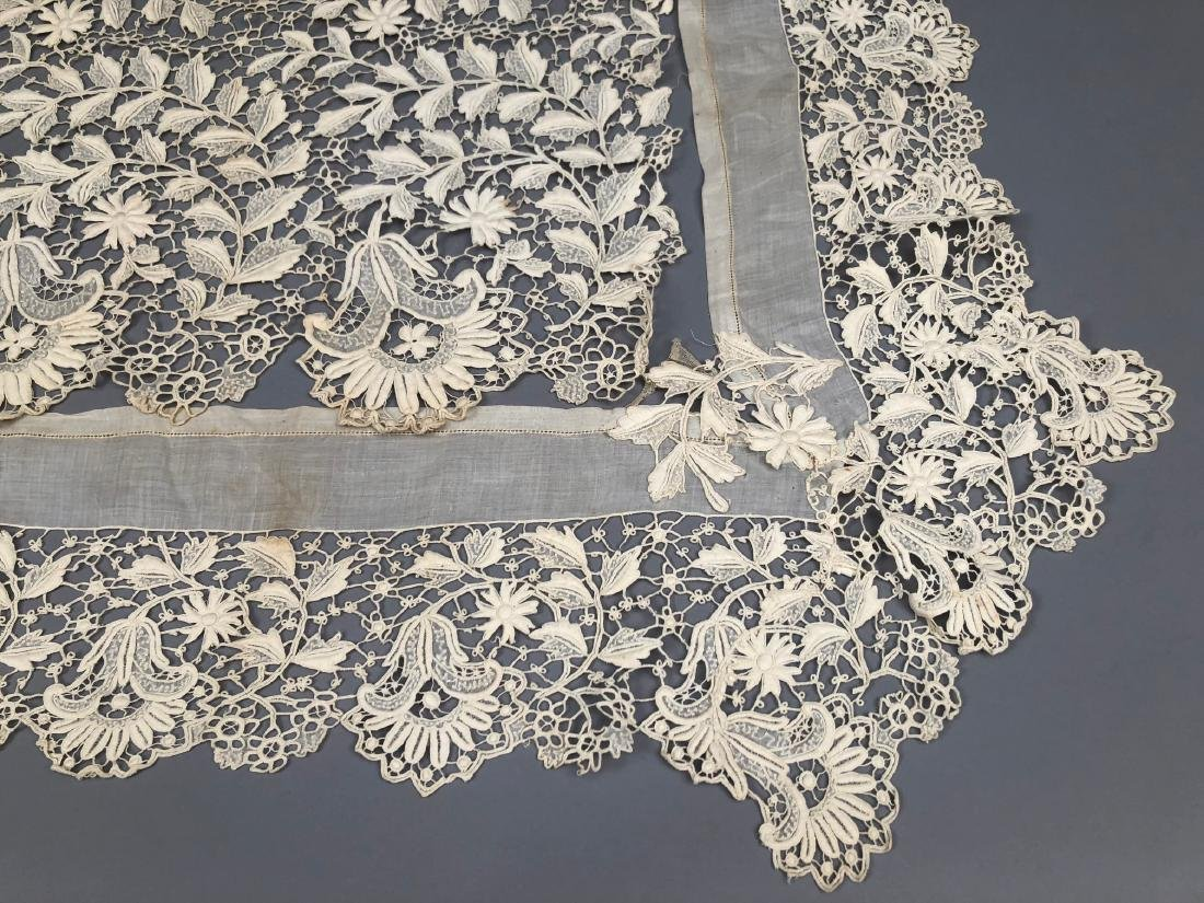 LOT of HEAVY LACE TRIM, EARLY 20th C.