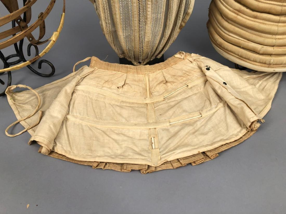 SIX BUSTLES, 1870 - 1890s - 3