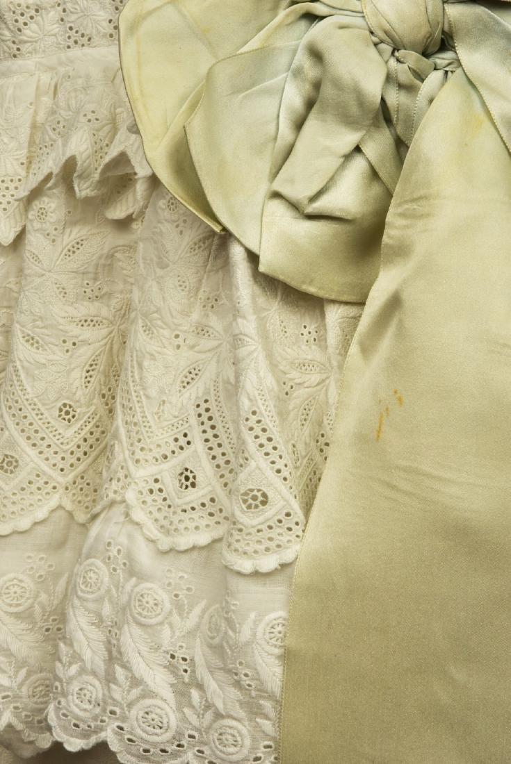TWO YOUNG GIRLS' LACE DRESSES, 1870 - 1880 - 4