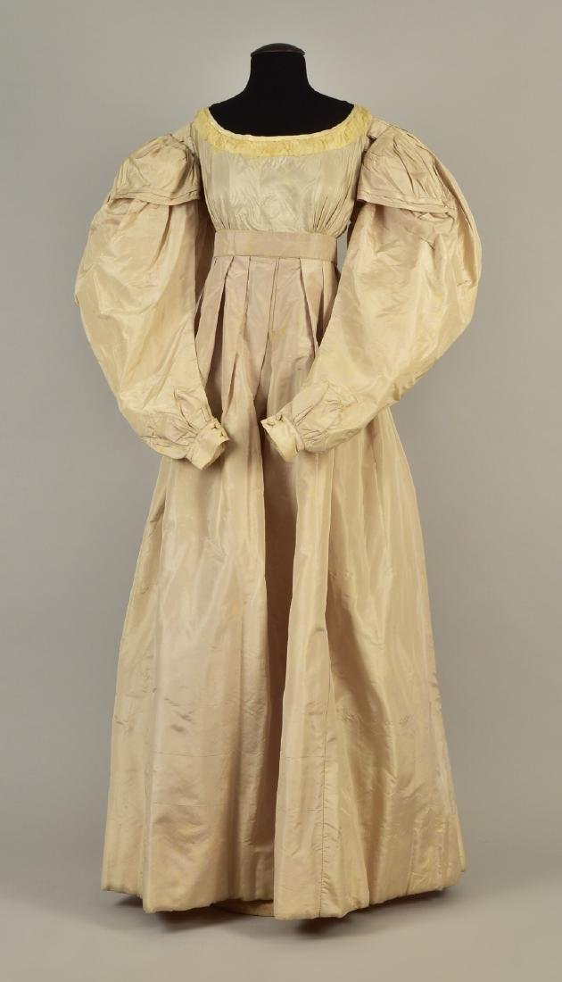 TAFFETA GOWN with ROYAL PROVENANCE, 1828