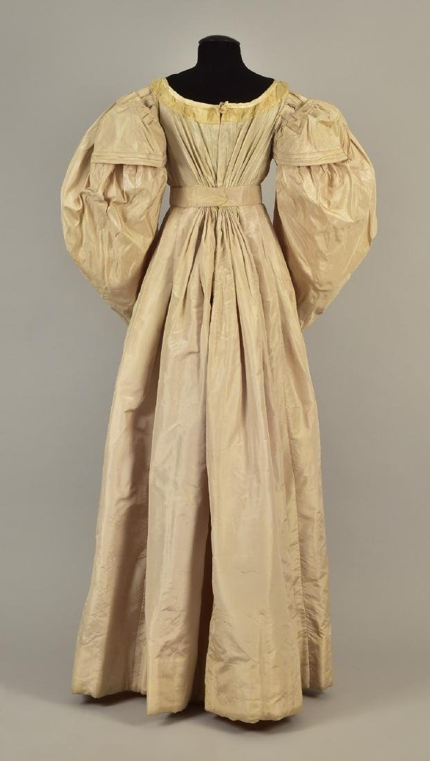 TAFFETA GOWN with ROYAL PROVENANCE, 1828 - 2