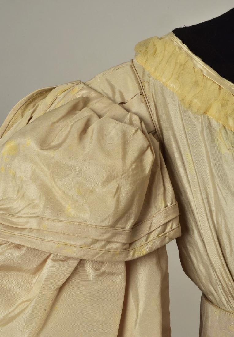 TAFFETA GOWN with ROYAL PROVENANCE, 1828 - 4