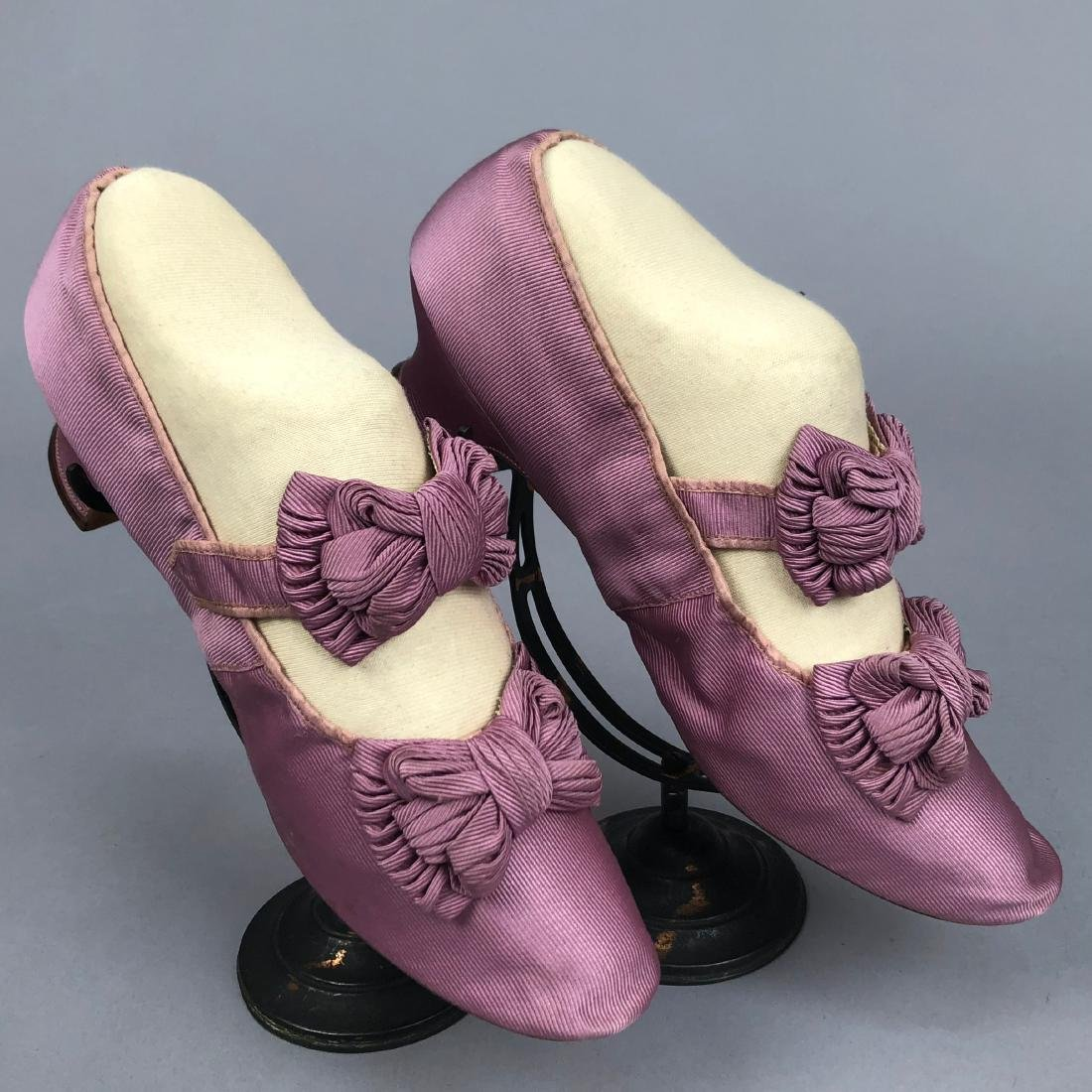 TWO PAIR SHOES, PRINCESS LOUISE of PRUSSIA, c. 1870 and - 2