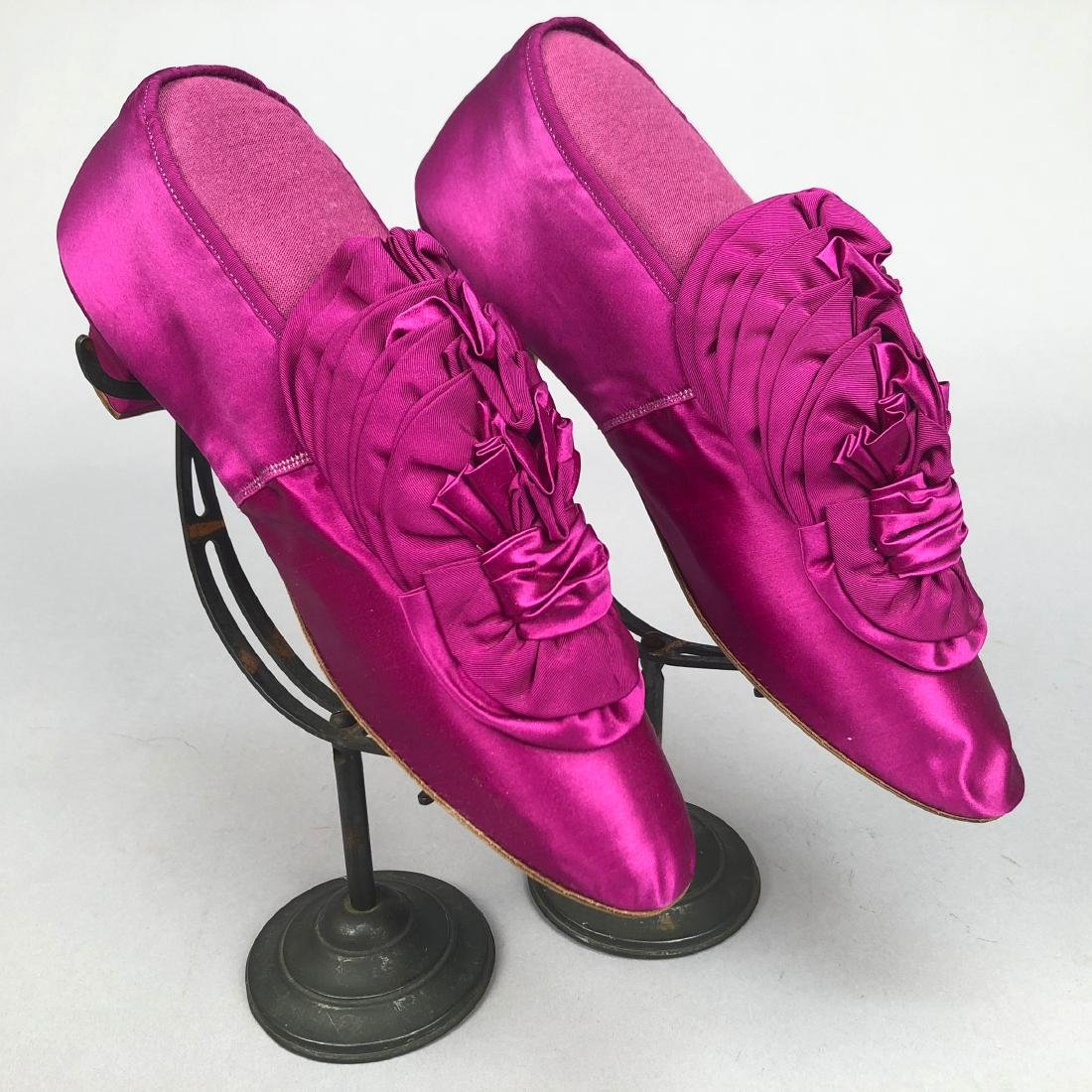 TWO PAIR SHOES, PRINCESS LOUISE of PRUSSIA, c. 1870 and - 3