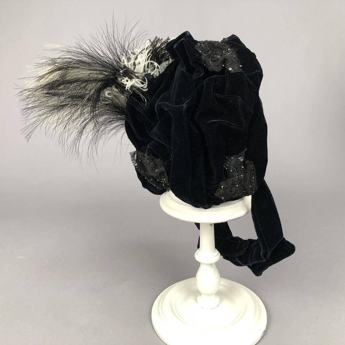 VELVET HAT, PRINCESS LOUISE of PRUSSIA, 1890s - 3