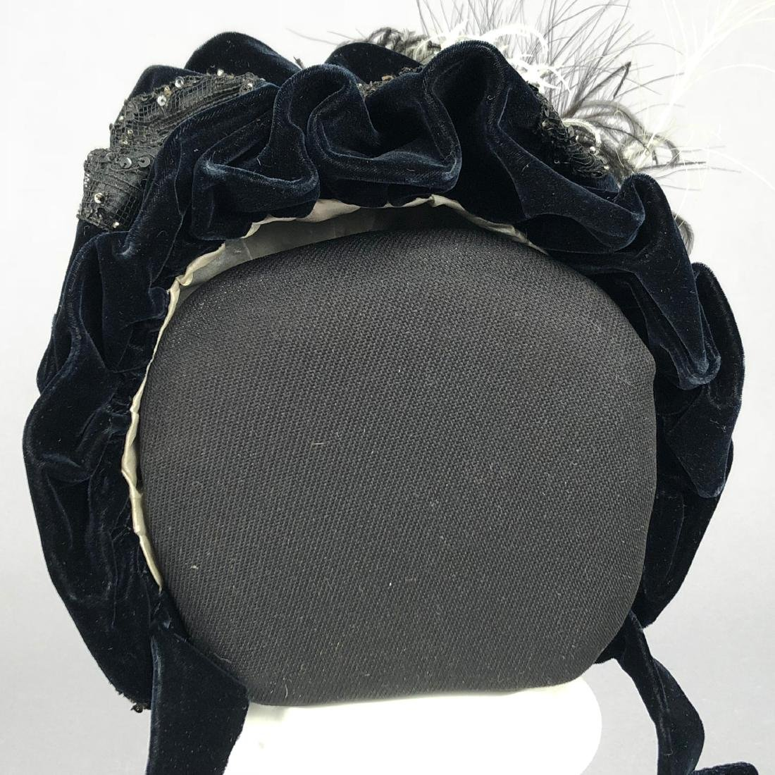 VELVET HAT, PRINCESS LOUISE of PRUSSIA, 1890s - 4