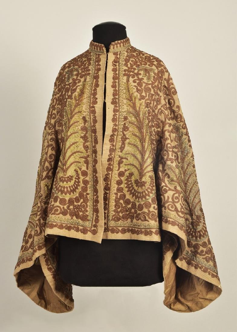 FRENCH DOLMAN with GOLD CORD, QUEEN ALEXANDRA, c. 1870