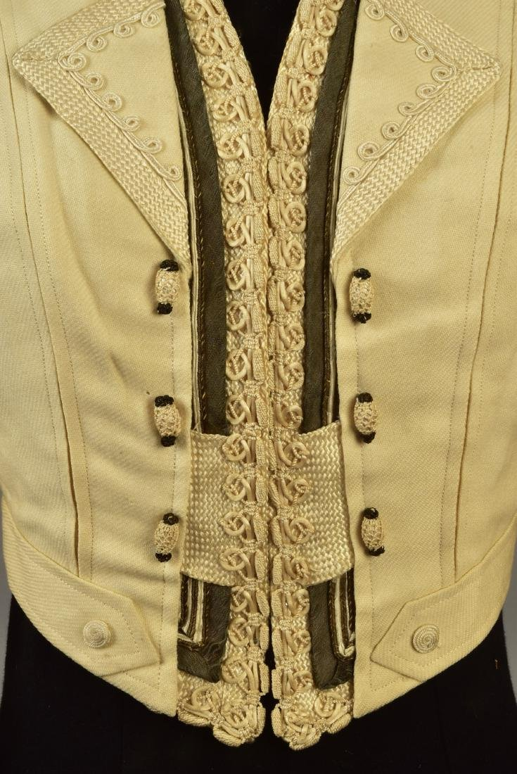 TWO JACKETS with SILK BRAID, QUEEN ALEXANDRA, 1900 - 6