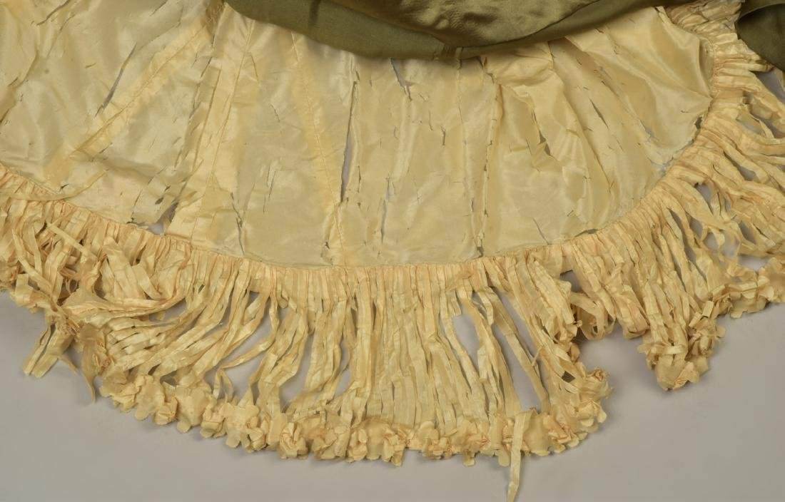 LACE over SATIN GOWN with ROYAL PROVENANCE, 1903 - 4