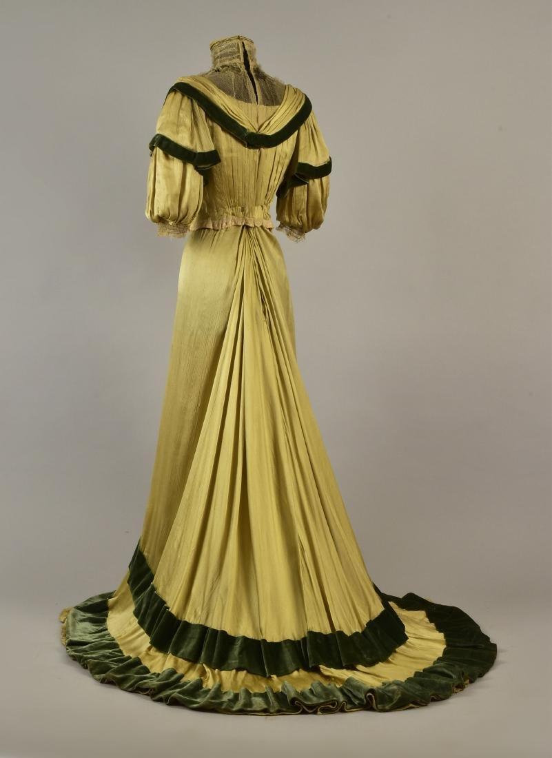 SILK and VELVET DRESS with ROYAL PROVENANCE, c. 1906 - 2