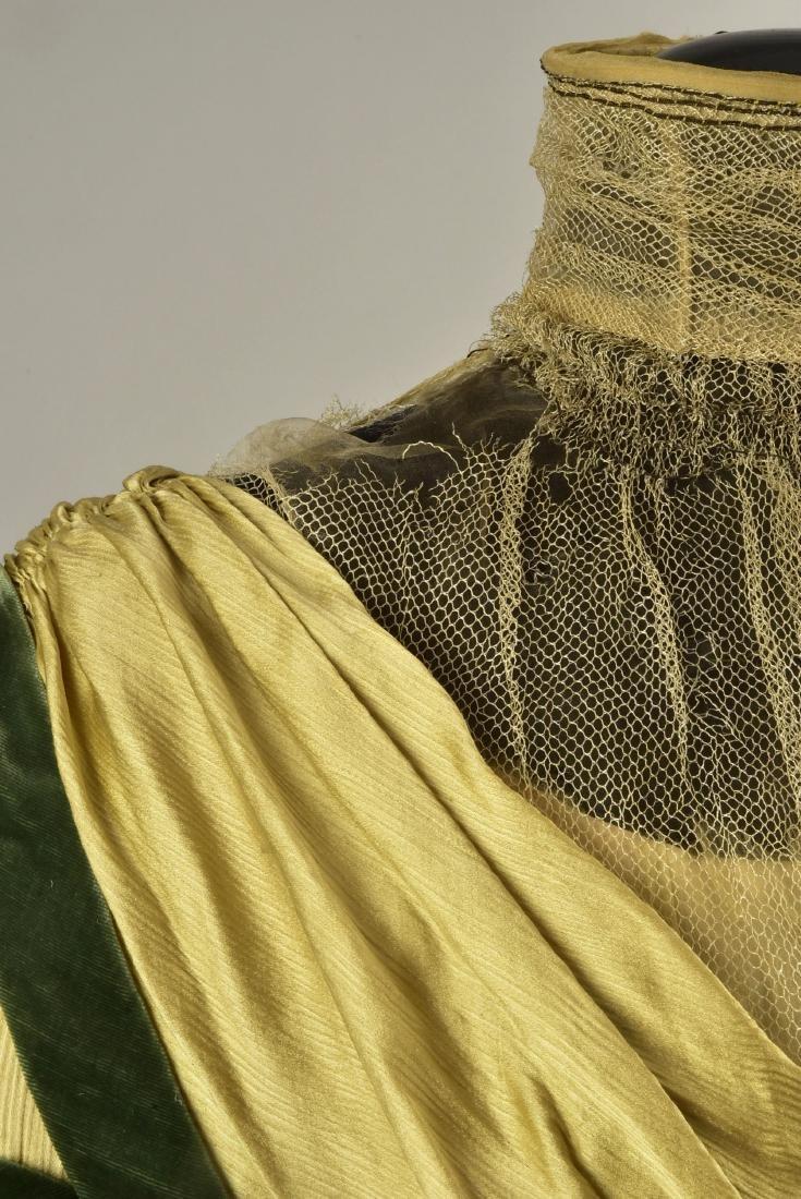 SILK and VELVET DRESS with ROYAL PROVENANCE, c. 1906 - 3