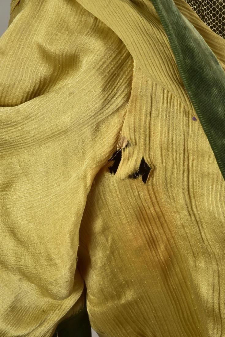 SILK and VELVET DRESS with ROYAL PROVENANCE, c. 1906 - 4